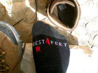 BestSilver-Socken