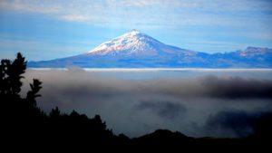 Blick auf den Teide (Teneriffa) von LA GOMERA